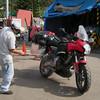 Fumigation at Guatemalan border