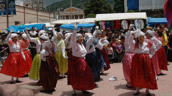 Saturday market, Totonicapan, Guatemala