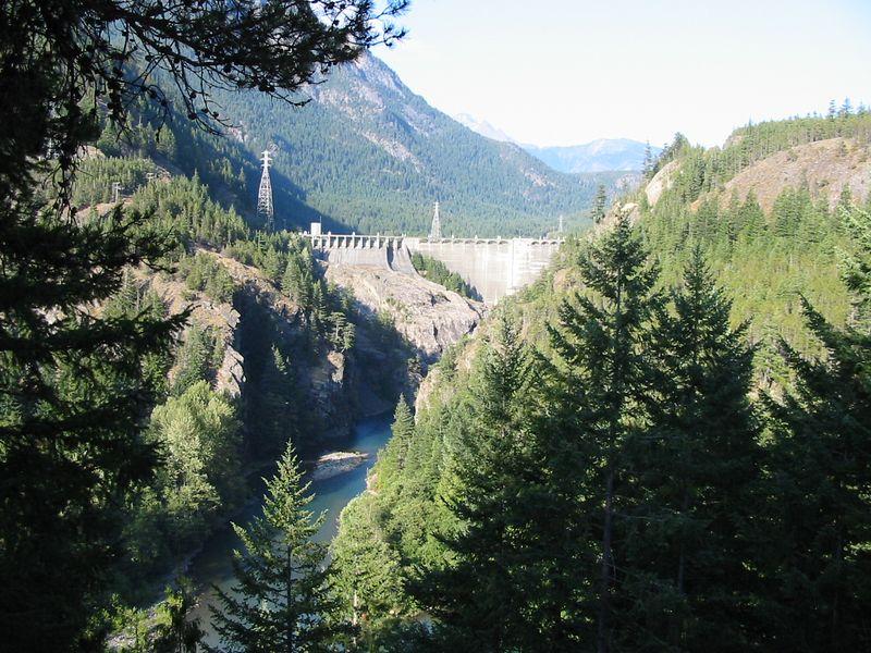 Diablo Dam North Cascades