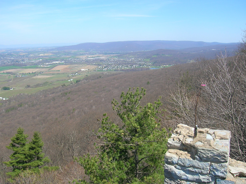 Looking East from High Rocks