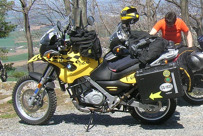 The Killer Bee in touring configuration