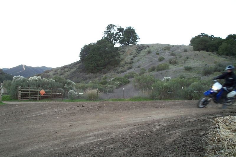 Dirt track.