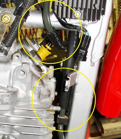 Honda XR650L Oil Cooler project