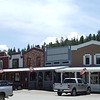Shops in Cloudcroft, NM.