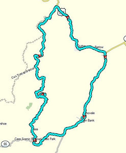 Wednesday's 52-mile dirt / road ride
