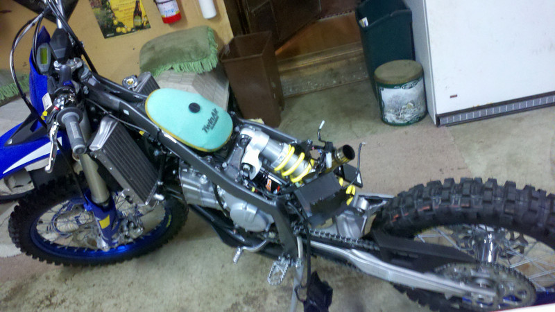 Stripped down and ready for a bunch of mods