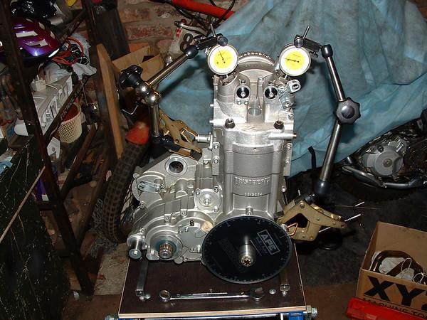 2002_12_30 Engine Tune / Race Bike Build Part 2