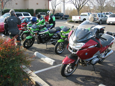 Parking lot of Perkos in Red Bluff after breakfast