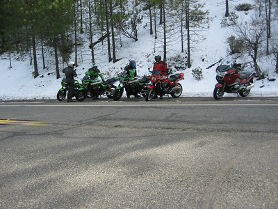 A photo stop on Hwy 36 January 1 2008.