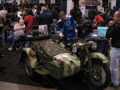Ural.  Buy one of these, and get placed on the mailing lists of Doomsday bunker-manufacturers for sure.