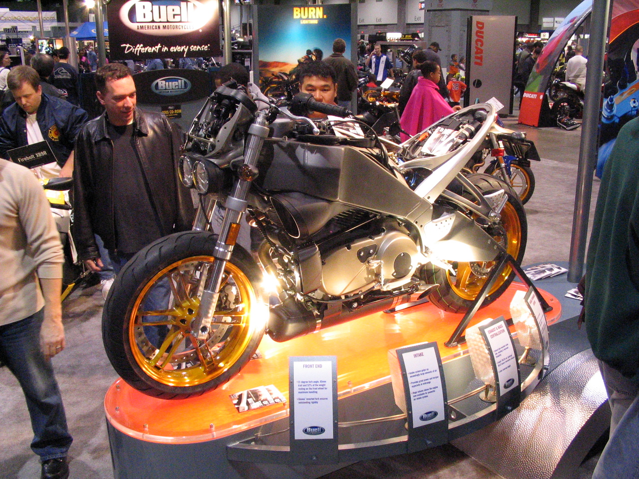 Buell's star offering, whatever it is (Sorry ...).