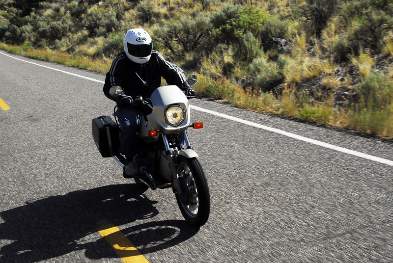 Michael on the R65