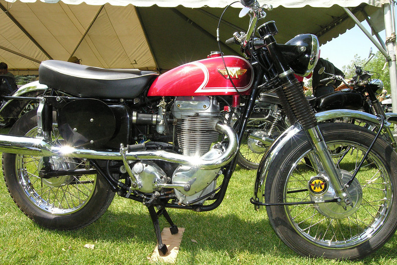 Matchless G85CSR single