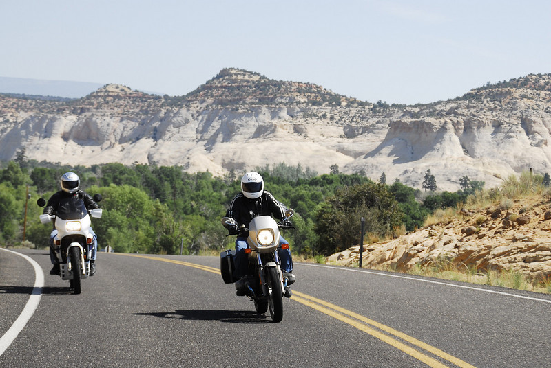 Bill & Michael on some great Utah roads