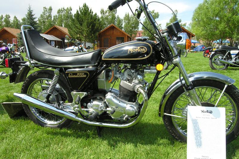 Norton 850 Hi-Rider Commando