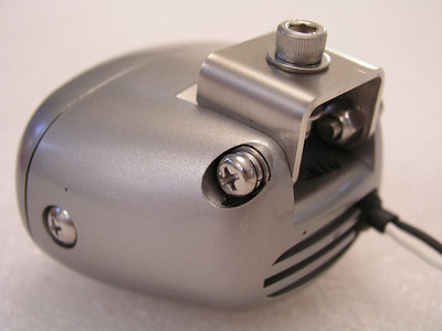 IPF REV1 light with the optional BestRest stainless steel mounting bracket