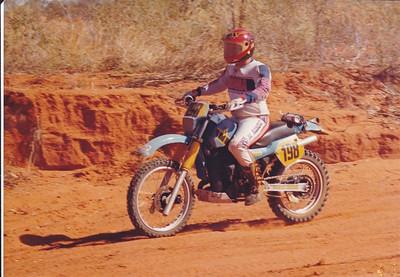 Racing Finke in 1986
