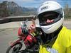 Self portrait with the bike.