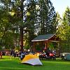 Broken Arrow campground.  Gibbonsville, ID