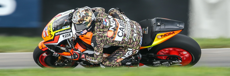 Colin Edwards last race in MotoGP. Indi 2014