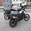 Samenkomst aan het Total benzinestation van Sint-Job-in't-Goor.<br /> Eric = Honda VFR 800 VTEC<br /> Guido = Honda CB 1000 R<br /> Patrick (ikke) = BMW F 800 GS