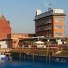 Vroegere DDR graansilo omgebouwd tot Hotel