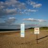Priwall, meest Noordelijke grensovergang FFK strand