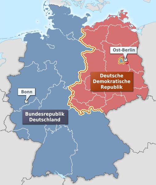 BRD - DDR