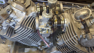 xv920 jetting, 22.5 pilot 195 main P-6 needle jet, 6DH3 needle  add light pull springs  xv750 jetting 20 pilot  145 main P-6 needle jet 6DH3 needle, light pull springs.  These will hook right up to the intake snorkels, this jetting works great for me, may vary on your bike, I'm also at sea level, so that makes a difference as well,