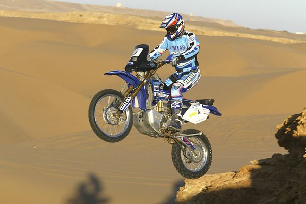 Interesting Dirt Bikes: 2wd Yam, Holz-Knisel
