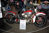 1941 Harley-Davidson FL Knucklehead - owner: Dave Pizzi. Displayed by CCAMCA.