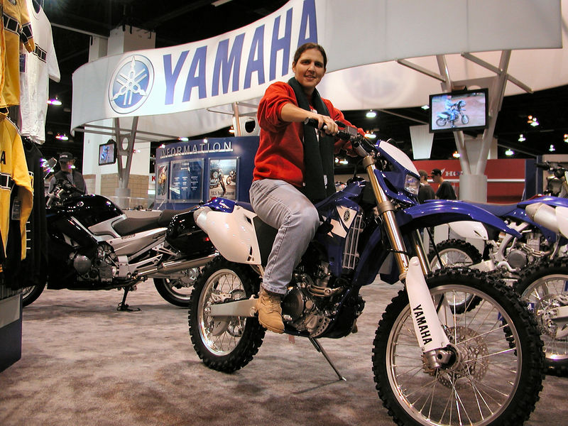 Yamaha WR 250F - Beth's next new bike?