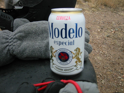This leftover from the night before will be the perfect guzzling temp when we reach Creel.