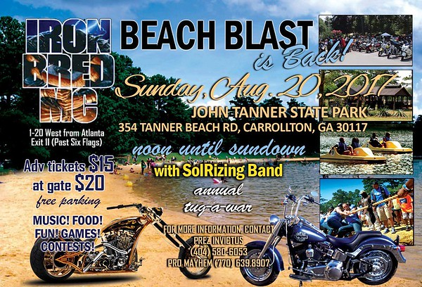 Iron Bred Beach Blast 2017