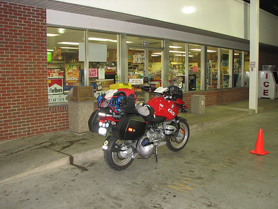 Gas and break! Riding through the night.