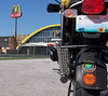 "A photo for the crew on advrider.com at the ""World's Largest McDonalds""  Can anyone say ""Supersize Me""??"