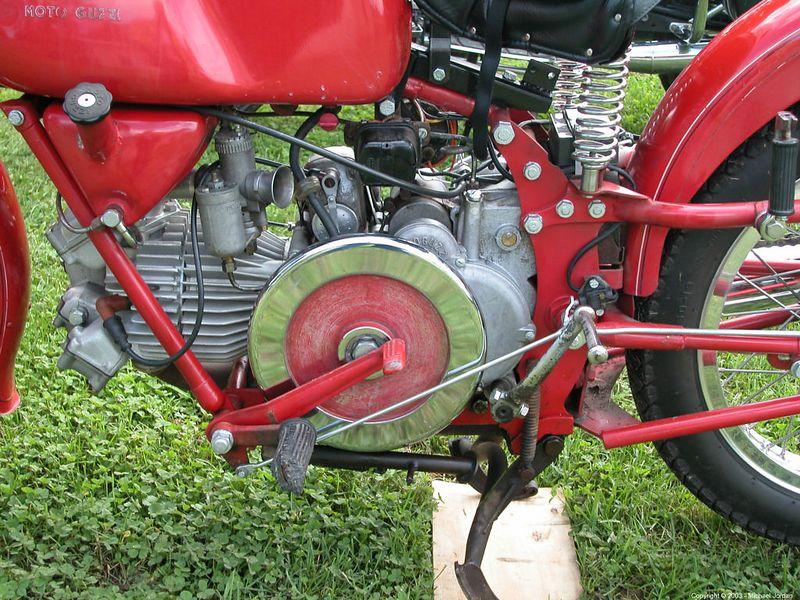 Guzzi Falcone - yes, that is the flywheel