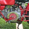 Guzzi Falcone - yes, that is the flywheel