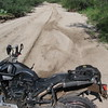 F800GS Crash - Sand