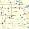 GPS track of Bike trip 2013