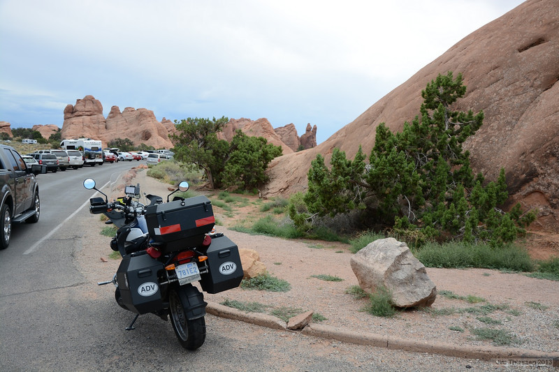 Lots of tourists here but its so beautiful its worth putting up with parking difficulties.  I could have spent another 3 days here exploring but headed home the next day.  It was a 6 day journey home from Utah,