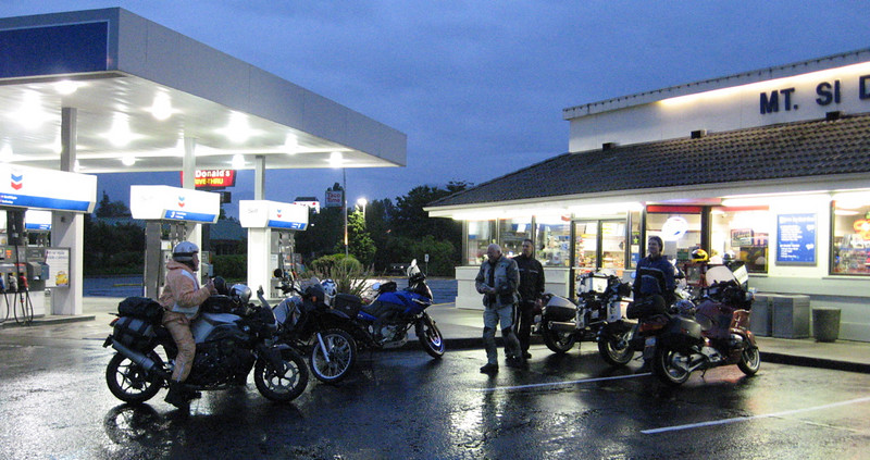 Early morning, North Bend, Washington
