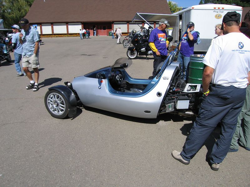 This three wheeler is powered by a K1100 engine.