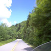 Day #2: Riding south on the Blue Ridge Parkway headed toward Robbinsville, NC