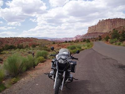 Along Burr Trail