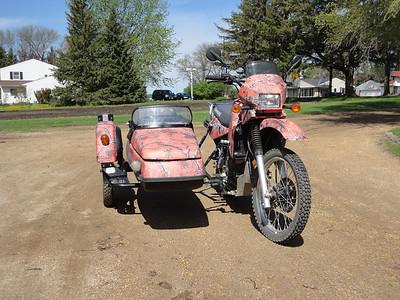 KLR650 Sidecar Rig