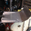 Making a skid plate.  First attempt at welding aluminum.