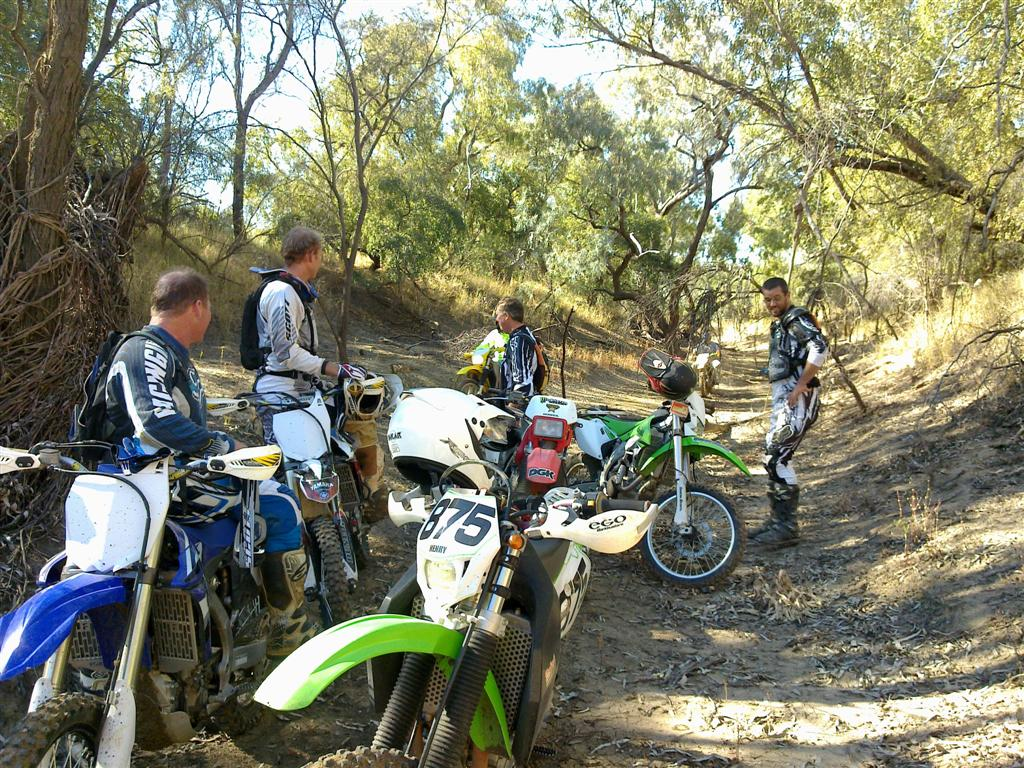 Trail Riding with friends