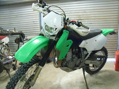 KLX 400 Stage 1 - ready to ride