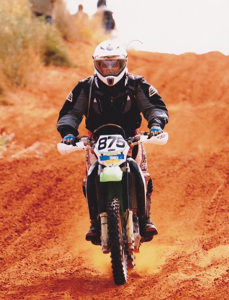 Racing at Finke 2011
